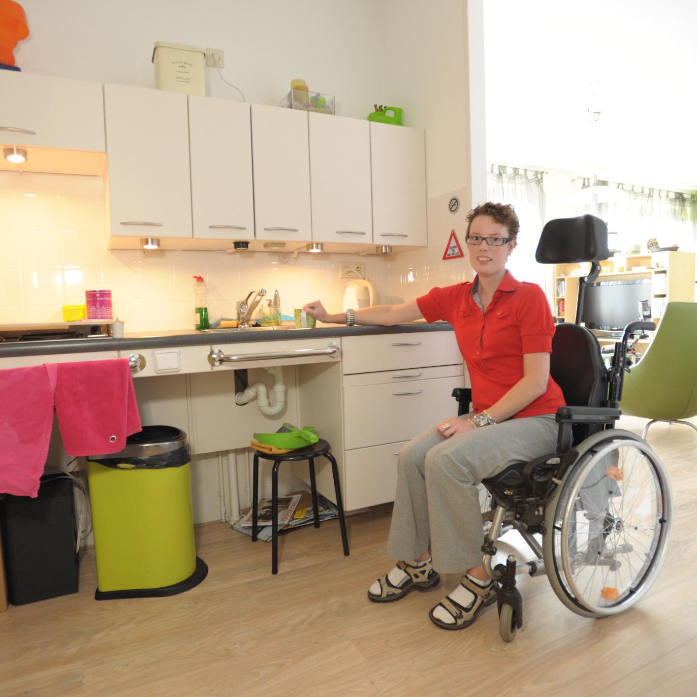 wonen voor mensen met niet-aangeboren hersenletsel of lichamelijke beperking